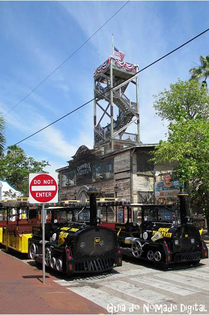 O que fazer em Key West: Old Town Trolley e Conch Tour Train