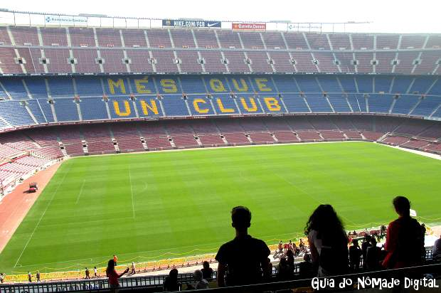visita ao est dio do barcelona camp nou fotos e