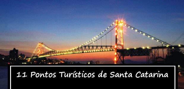 11 Principais Pontos Turísticos de Santa Catarina para Visitar