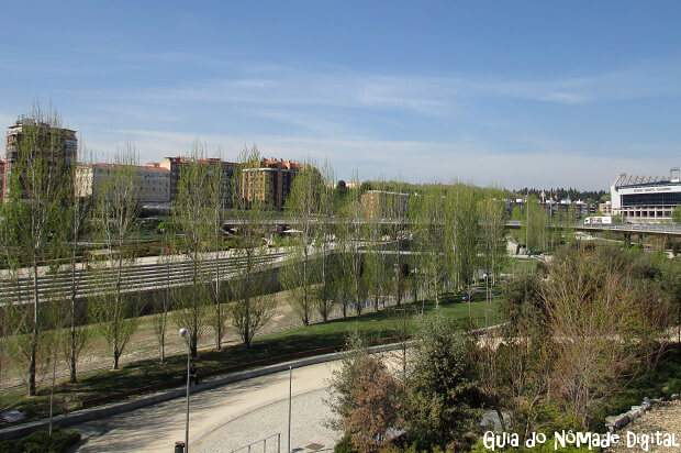 Parques de Madrid na Primavera