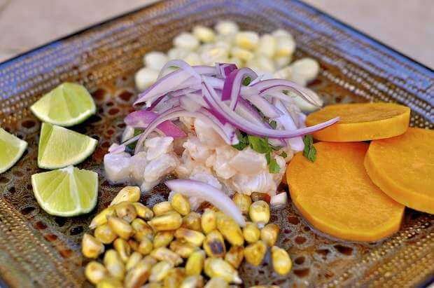 Comidas típicas do Peru: Ceviche