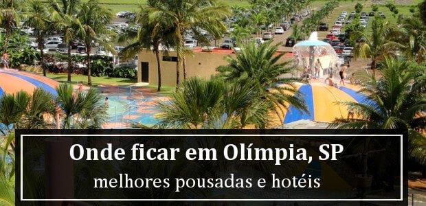 Onde ficar em Olímpia, São Paulo? Melhores Pousadas e Hotéis em Olímpia