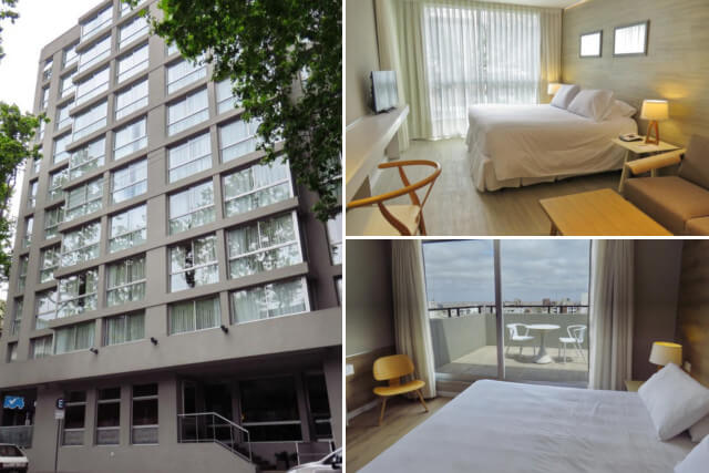 Acomodações do Smart Hotel Montevideo by Tay Hotels