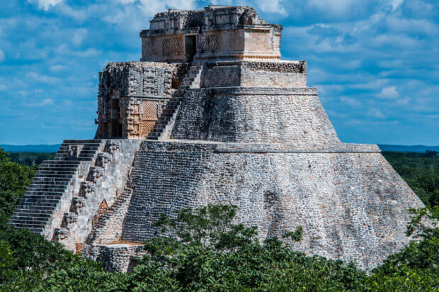 Uxmal. Fonte: Flickr por Ted McGrath