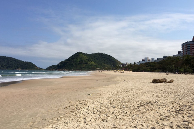 Praia do Tombo, Guarujá